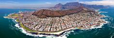 Get cheap flights from Boston to Cape Town, Africa. Search on FlyABS for cheap flights and airline tickets to Cape Town from Boston. Places To Travel, Places To See, Places Around The World, Around The Worlds, Cape Town South Africa, East Africa, Destination Voyage, Famous Places, Birds Eye View