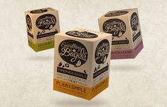 Everything Bagels packaging by Design Happy