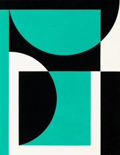 Untitled by Lars Gunnar Nordström Geometric Painting, Geometric Designs, Geometric Shapes, Abstract Art, Op Art, Composition Art, Grafik Design, Graphic Design Inspiration, Design Art