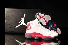 Air Jordan 13 Mens White Red Black 015da9660