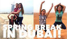 Spring Break 2015 in Dubai   #brooklynandbailey #springbreak #youtube #dubai #video #travel
