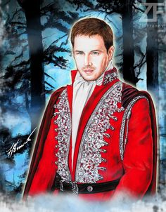 #OUAT #PrinceCharming illustration by @ziafranny