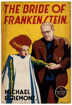 The Bride of Frankenstein, Michael Egremont. Scary Movies, Horror Movies, Edward Gorey Books, Queen Anime, The Modern Prometheus, Fantasy Literature, Vintage Illustration Art, Turner Classic Movies, Frankenstein's Monster