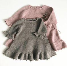 Foxglove Dress - Thimble dress pattern by Knitting for Sif - ДЕВОЧКАМ. - Foxglove Dress – Thimble dress pattern by Knitting for Sif – ДЕВОЧКАМ # - Baby Knitting Patterns, Baby Dress Patterns, Knitting For Kids, Knitting Stitches, Knit Baby Dress, Knitted Baby Clothes, Knit Baby Sweaters, Baby Gown, Little Pink Dress