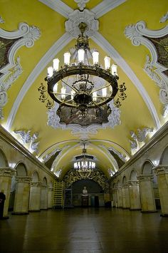 Moscow Subway- astonishingly lovely