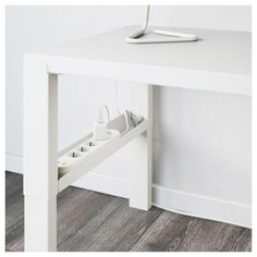 Full Product Info - IKEA - PÅHL, Desk with add-on unit, white, This desk is designed to grow with your child, thanks to the three different heights. The desk is easily adjusted to or by using the knobs on the legs. Home Office Design, Home Office Decor, Desktop Shelf, Bedroom Desk, Lego Bedroom, Childs Bedroom, White Desks, Diy Desk, Workspace Desk