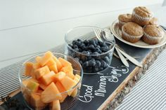 DIY Rustic Chalkboard Serving Tray by The Wood Grain Cottage