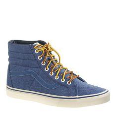 on sale ece4e 1d485 Vans® for J.Crew Sk8-Hi Reissue sneakers