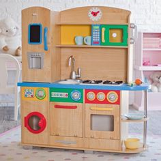Kidkraft Cook Together Play Kitchen 149 99 Has Washer Dryer
