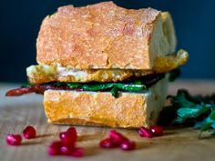 Fried egg, kale, and pomegranate? | Community Post: Pomegranate Sandwiches Are Totally A Thing