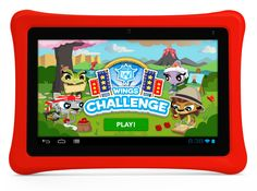 Nabi Jr Tablet: Our recommendation for best first tablet for preschoolers.