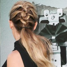 The best celebrity hair and makeup looks to try out for a fresh beauty look this summer: Teresa Palmer's braided ponytail