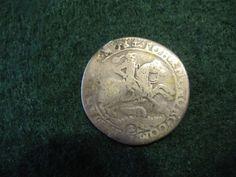German States MANSFELD-EISLEBEN 1671 1/3 Thaler KM# 67 ROTATED DIES ERROR COIN !