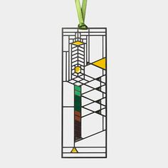 Frank Lloyd Wright Robie Window Bookmark