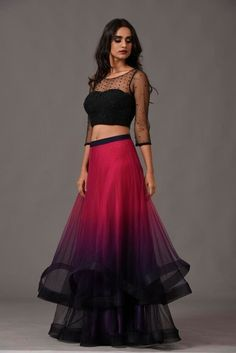 c796c4783a6 112 Best Crop top with skirt images in 2019 | Indian clothes, Indian ...