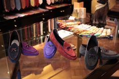 Loafers, loafers and more loafers.