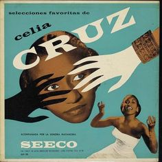 vintage album cover Selecciones Favoritas de Celia Cruz