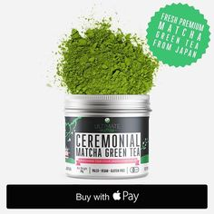 ? Get yours even FASTER with APPLE PAY now at Ultimate Matcha. Checkout using your Credit Card  with Apple Pay today and get 30% OFF your next purchase at Ultimate Matcha #applepay #matcha #ultimatematcha #livewell #matchagreentea #savemoney #discount #iphone