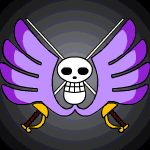 Baroque Works Crocodile Jolly Roger by Z-studios.deviantart.com on @DeviantArt