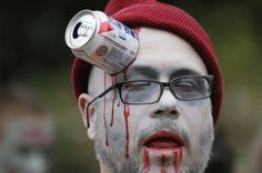 The Zombie Preparedness Initiative has issued an all points alert. PBR appears to be the cause.    http://www.zombiepreparedness.org/