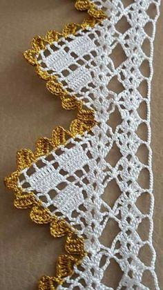 Crochet Edging Patterns, Crochet Borders, Crochet Dolls, Crochet Lace, Needle Lace, Weaving Art, Chrochet, Diy And Crafts, Crochet Necklace