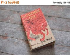 ON SALE Miniature Book --- Catcher in the Rye
