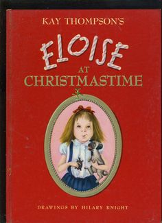 ELOISE AT XMAS 1958 FIRST EDITION, FRIST PRINTING,  With NO MARKS, GORGEOUS COPY