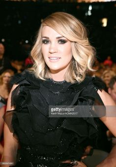 Recording artist Carrie Underwood attends the 52nd Academy Of Country Music Awards at T-Mobile Arena on April 2, 2017 in Las Vegas, Nevada.