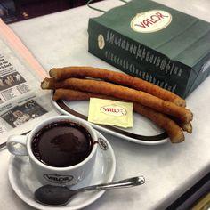Chocolate caliente c