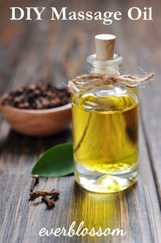 Getting a massage is a lovely way to spend an evening, isn't it? Well, you don't have to hit the spa to get a good massage. Trade massages with your other half with this DIY massage oil.