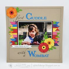 Splotch Design - Jacquii McLeay Independent Stampin' Up! Demonstrator: scrapbooking pages