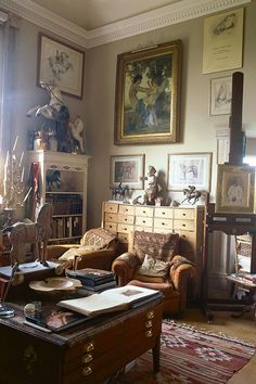 Sue Phipps Scottish Borders - Studio - Take a look around the beautiful homes and inspiring studios of our favourite artists - interiors on HOUSE by House & Garden