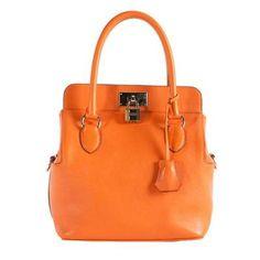 Orange Swift Toolbox Bag / by Hermès