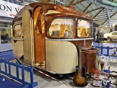 Reminds me of Moody Little Sister's Songs From The Camper - Shine Baby Tiny Trailers, Small Trailer, Vintage Campers Trailers, Retro Campers, Vintage Caravans, Camper Trailers, Airstream Motorhome, Vintage Motorhome, Camping Con Glamour
