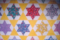6 pointed star quilt