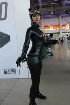 Sexy Catwoman at the Moscow Comic Convention - Album on Imgur