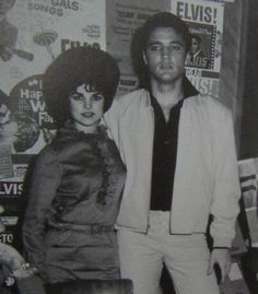 RARE: Elvis and Priscilla when she spent the Christmas Holidays with Him.
