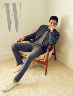 358bf4095 Daniel Henney / W Korea / March 2017 Daniel Henney, W Korea, White Pants