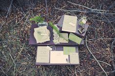 rustic wedding invites  |  gideon photography