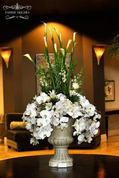 arrangement by Flower Studio Gardening Tools Names, Garden Tools, Daily Puzzle, Australia 2017, Rope Bridge, Care Logo, Hospice, Lighting Uk, Taps