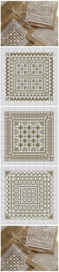 Embroidery patterns / Схемы д�