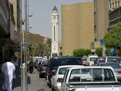 This is the Clock Tower district in Riyadh, Saudi Arabia. I believe this was down by chop chop square....you guessed right!
