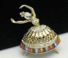 Coro Craft Pegasus Ballerina  http://stores.ebay.com/atouchofrosevintagejewels