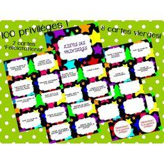 Ce produit contient:  - Une affiche Classroom Incentives, Online Classroom, Classroom Ideas, Class Management, Classroom Management, Class Dojo, The 100, Teaching, Motivation