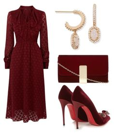 """178"" by ojunka ❤ liked on Polyvore featuring Karen Millen, Christian Louboutin, Dorothy Perkins and Kendra Scott"