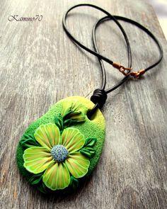 biżuteria z modeliny, polymer clay, Kamino70