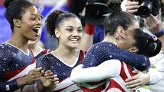 Watch: Brilliant Biles leads US gymnasts to women's team glory