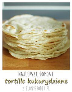 tortille kukurydziane, potrzebne tylko 3 składniki: mąka kukurydziana, sól i woda!