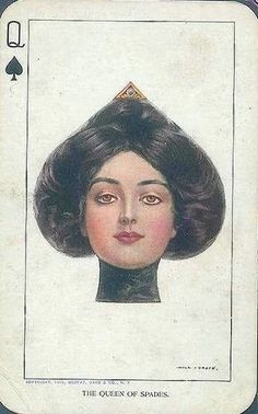 Lady card