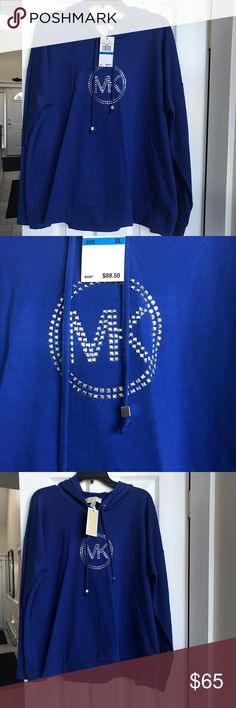 Michael Kors women's hoodies NWT Brand new with tags women's Michael Kors Hoodie Smoke free / pet free home Michael Kors Tops Sweatshirts & Hoodies